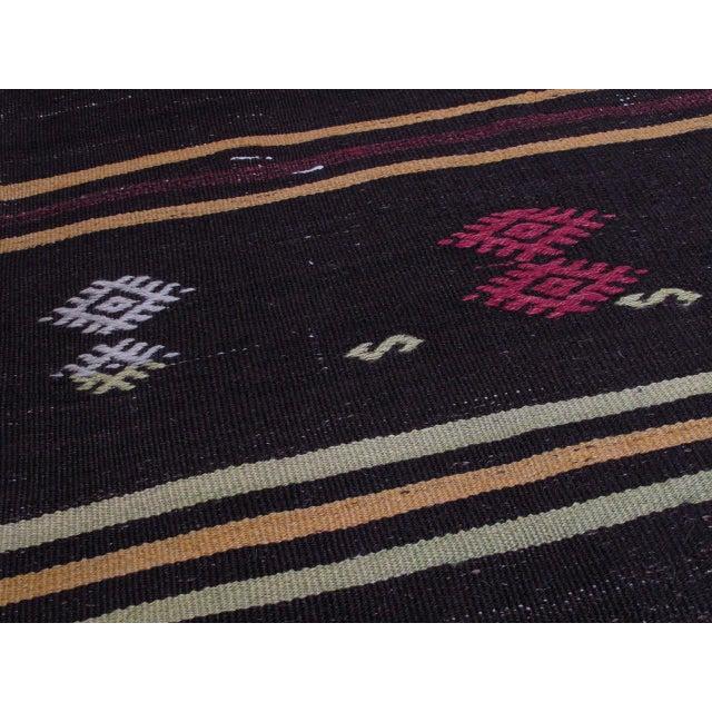 "Striped Kilim, ""Adil"" For Sale - Image 4 of 10"