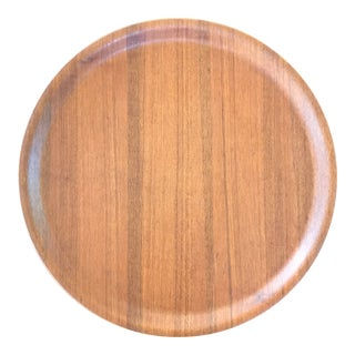 Selandia Mid-Century Teak Wood Tray For Sale