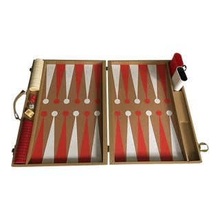 Vintage Backgammon Bakelite Set