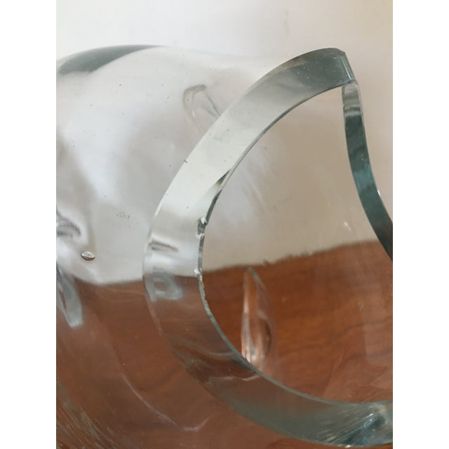 Blenko Mid-Century Clear Glass Fish For Sale In Buffalo - Image 6 of 6