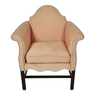 Vintage French Art Deco Small Bergere Chair For Sale