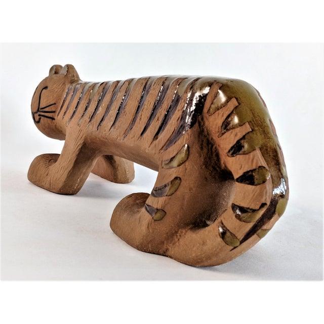 Lisa Larson Ceramic Tiger by Lisa Larson for Gustavsberg, 1970s For Sale - Image 4 of 13