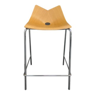 Allemuir Wood Counter Stool For Sale