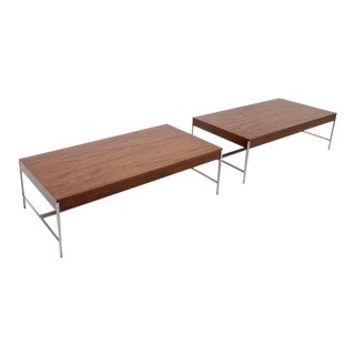 Matched Pair of George Nelson Coffee Tables For Sale