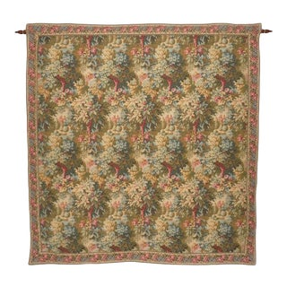 d'Art De Lys French Aubusson Wall Tapestry For Sale