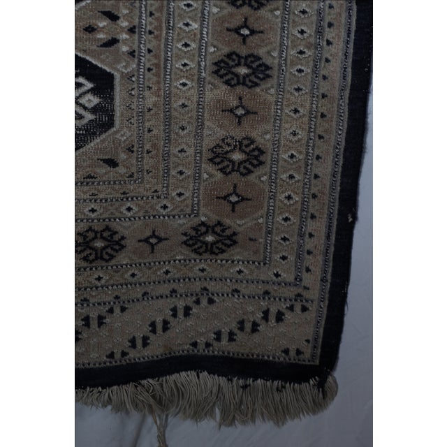 Jaldar Pakistani Wool & Cotton Rug - 2′6″ × 3′ - Image 4 of 4