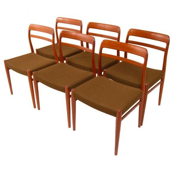 Norwegian Expanding Teak Dining Set - Image 2 of 10