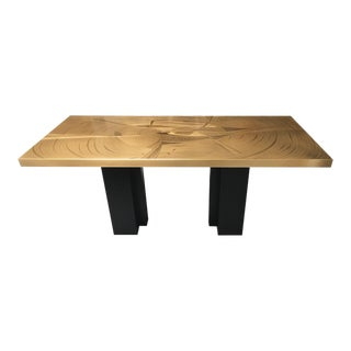 The Contour Dining Table by Christian Heckscher For Sale
