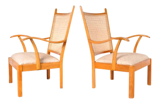 Set of Two Easy Chairs by Bas Van Pelt for My Home Netherlands circa  sc 1 st  Decaso & Lovely Set of Two Easy Chairs by Bas Van Pelt for My Home ...
