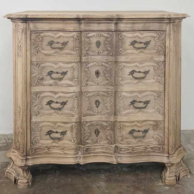 Mid 19th Century 19th Century French Regence Buffet With Faux Drawer Façade For Sale - Image 5 of 13