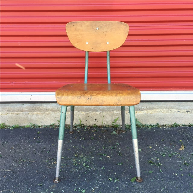 Mid Century Modern Bentwood Chair For Sale - Image 10 of 11