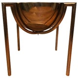 Image of Brueton Bronze Side or End Table by J Wade Beam For Sale