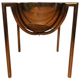 Brueton Bronze Side or End Table by J Wade Beam For Sale