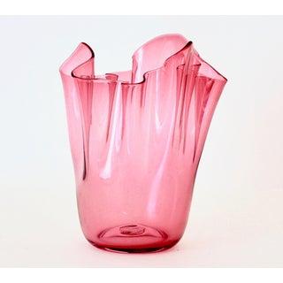 Vintage Venini Handkerchief Vase Preview