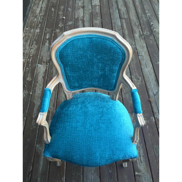 French Bergere Chairs - a Pair For Sale - Image 10 of 11
