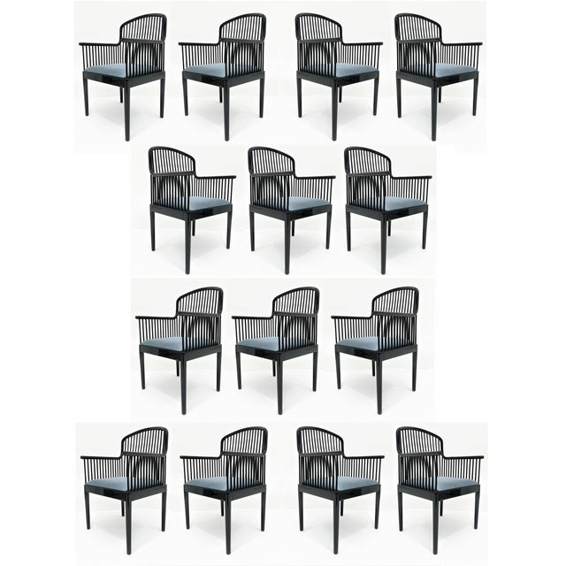 "Set of 14 Vintage Davis Allen ""Andover"" Chairs for Stendig For Sale - Image 11 of 11"