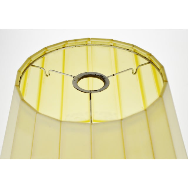 Mid 20th Century Mid Century Emeloid Lampshade For Sale - Image 5 of 13