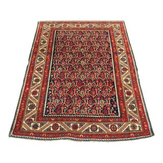 """Early 20th Century Antique Malayer Rug -- 3'5"""" X 4'7"""" For Sale"""