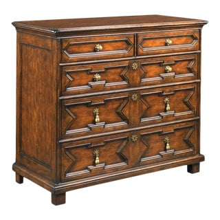 Modern 17th Century Style Chest For Sale