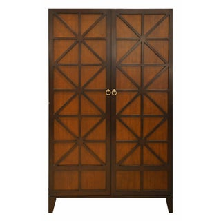 Hickory Chair Transitional Co. Cleo Wood Bar Cabinet For Sale