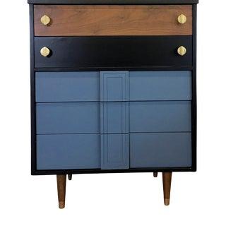 Mid Century Tall Dresser