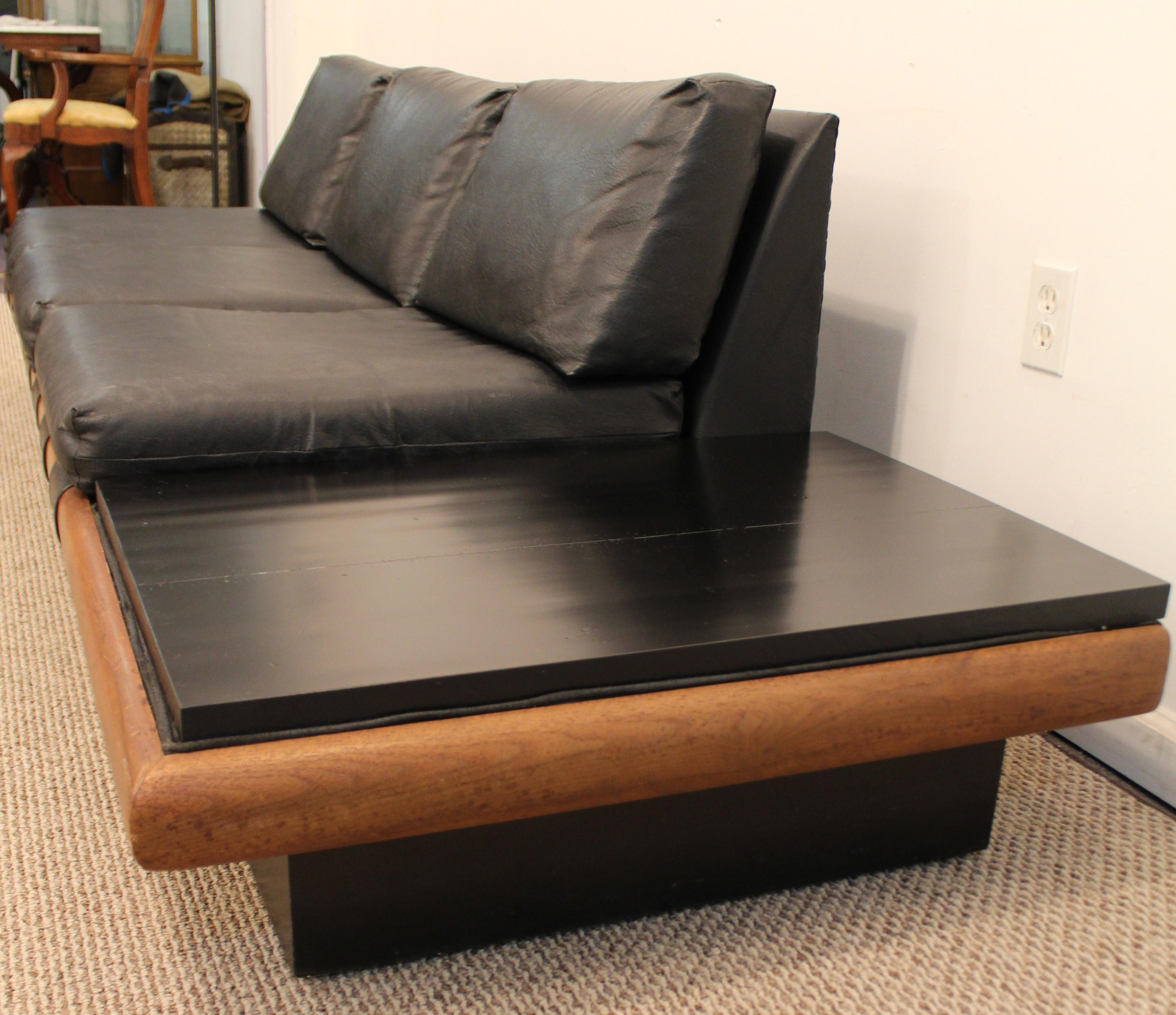 Mid Century Danish Modern Adrian Pearsall Platform Sofa   Image 5 Of 10