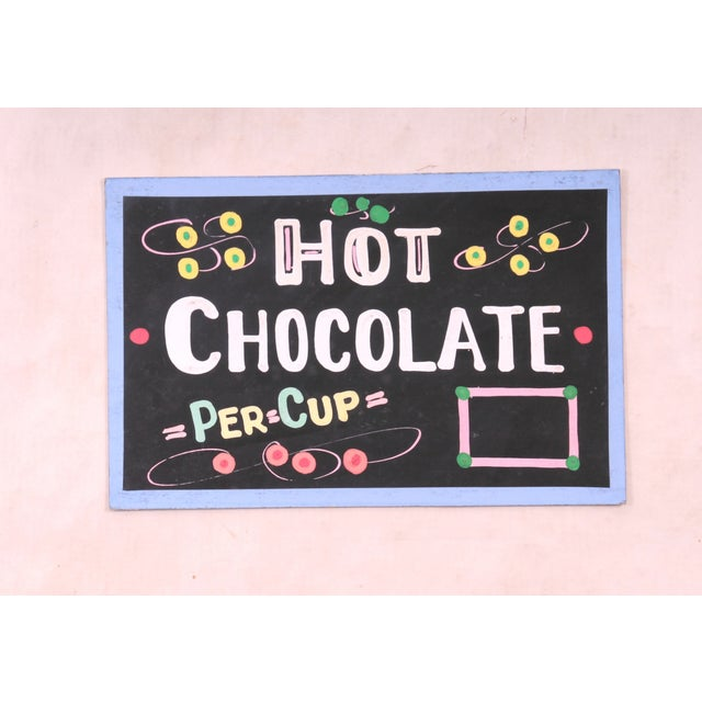 Hot Chocolate Sign - Image 2 of 3
