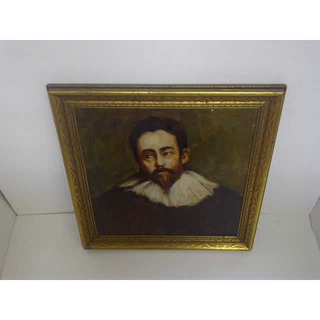 """Spanish Nobleman"" by William Newfield For Sale - Image 5 of 7"