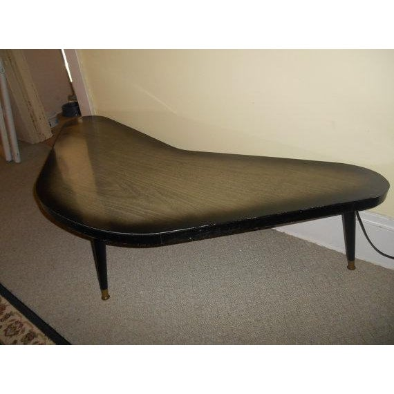 Mid-Century Modern Atomic Boomerang Table - Image 4 of 5