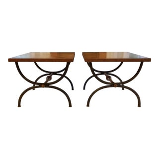 Vintage Tomlinson End Tables - a Pair For Sale