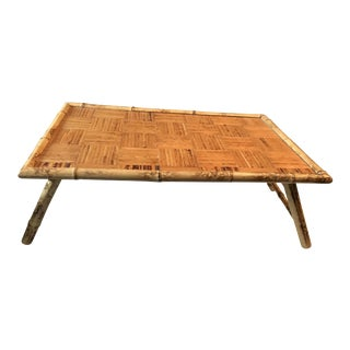 Vintage Bamboo Bed Tray