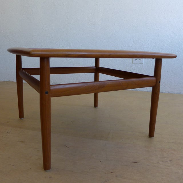 Grete Jalk Eames Era Teak Square End Table - Image 3 of 7