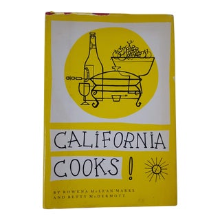 1970s Vintage California Cooks Cookbook For Sale