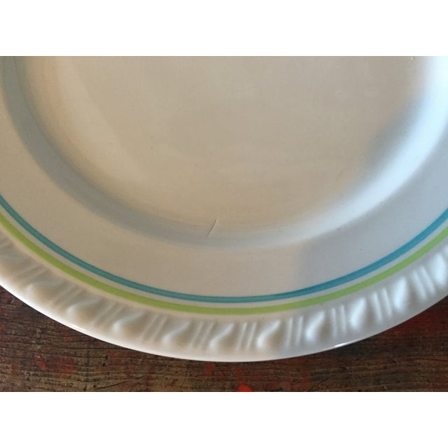 Restaurant Ware Plates with Castle - Set of 6 - Image 5 of 8