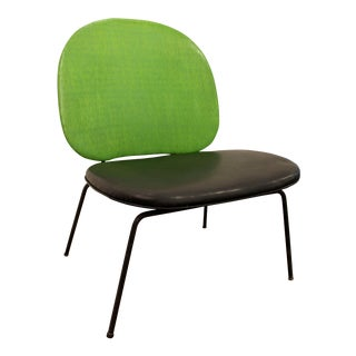 Paul McCobb-Style Mid-Century Danish Lime Green Side Chair For Sale