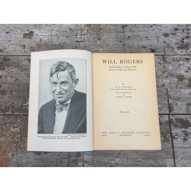 Will Rogers by P.J. O'Brien c.1935 For Sale - Image 5 of 6