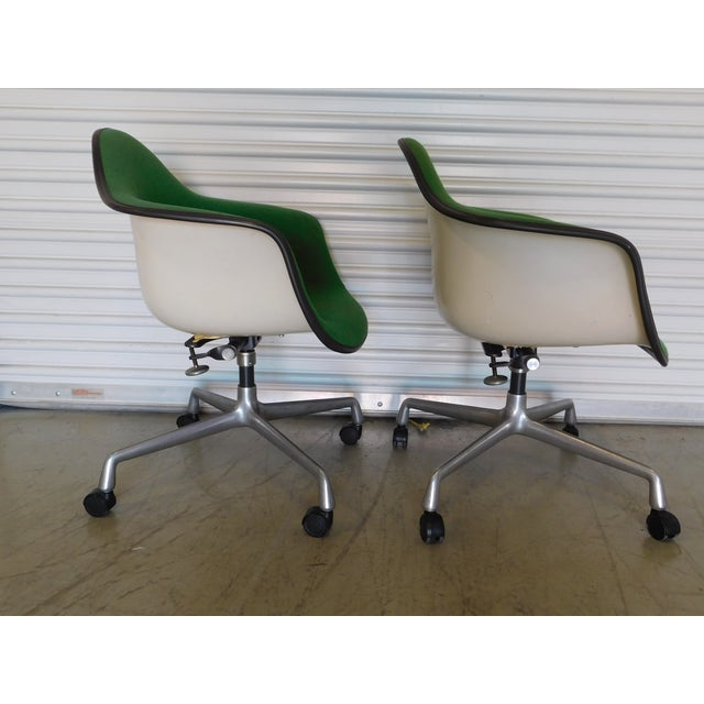 1979 Herman Miller Green Office Chairs - Pair - Image 3 of 11