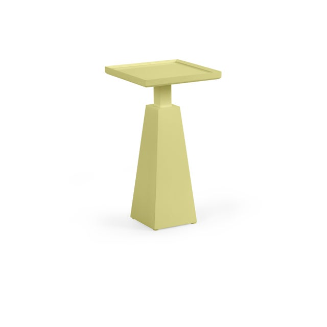 Transitional Casa Cosima Hayes Spot Table, Pale Avocado For Sale - Image 3 of 3