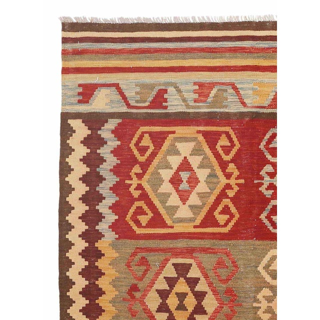 "Pasargad Kilim Area Rug - 4'7"" X 6'6"" - Image 2 of 2"