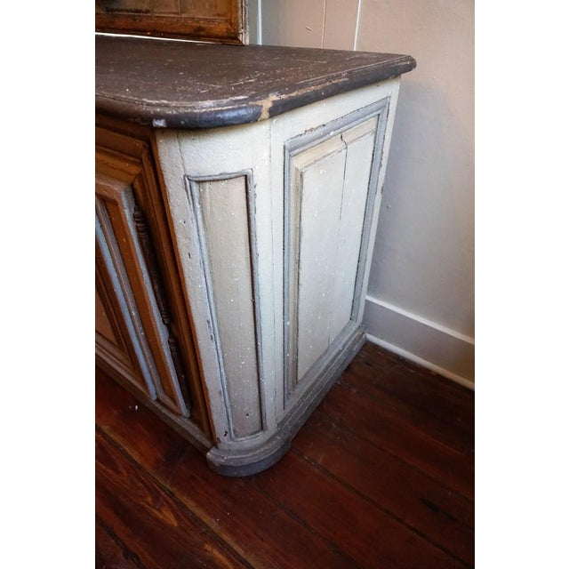 French 19th Century French Painted Buffet For Sale - Image 3 of 10
