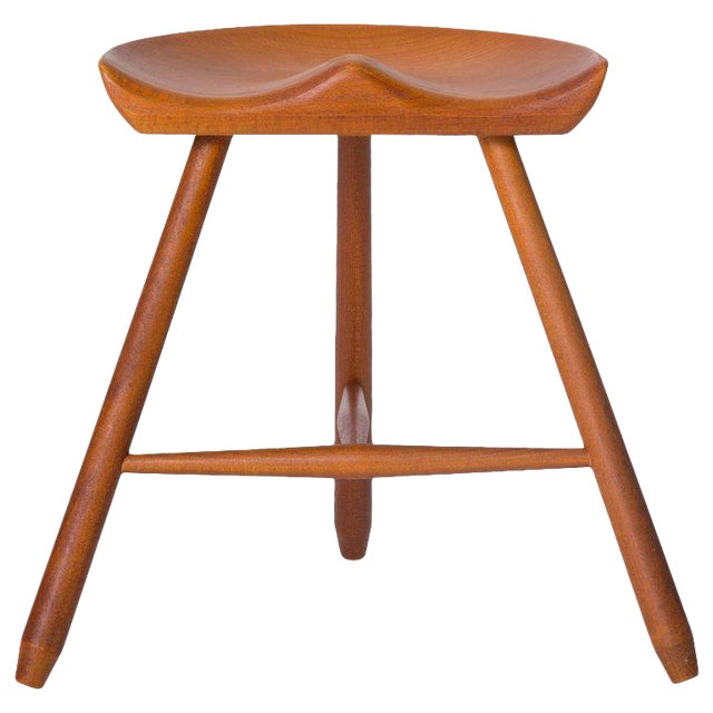 Danish Modern Milking Stool For Sale