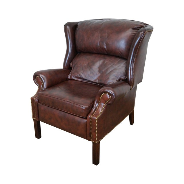 Admirable Bloomingdales Craftwork Guild Reclining Wing Chair Caraccident5 Cool Chair Designs And Ideas Caraccident5Info