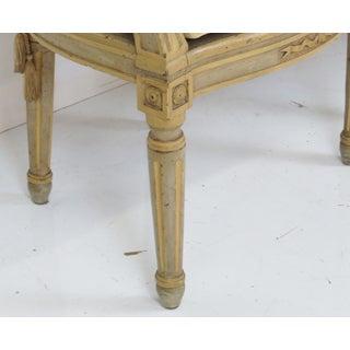 Antique Louis XVI Style Caned Fauteuils - Pair Preview