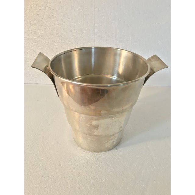 Sterling 925 Wine Cooler Ice Bucket For Sale - Image 11 of 11