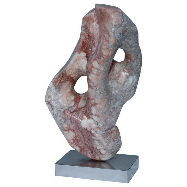 Mid-Century Modern Abstract Marble Sculpture For Sale - Image 13 of 13