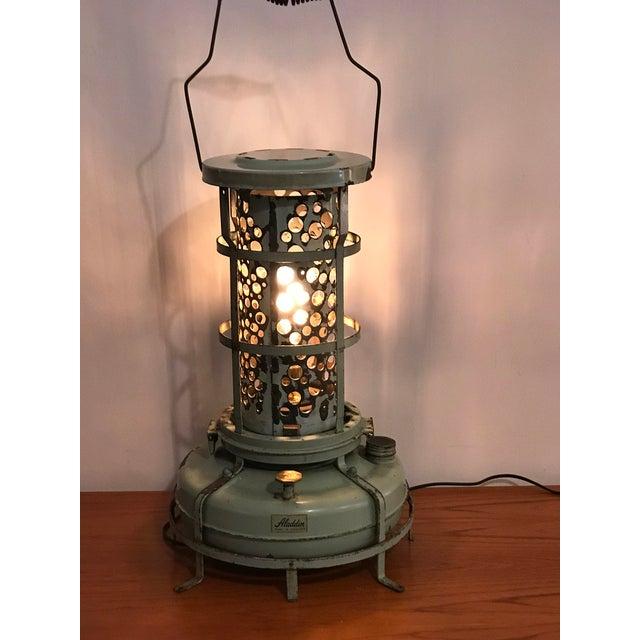 Aladdin Kerosene Heater Converted To Lamp Chairish