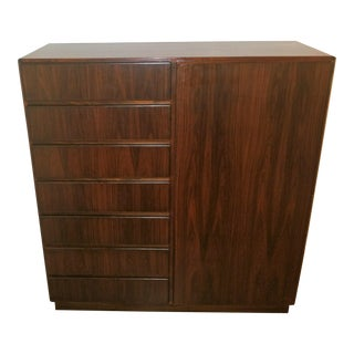 Komfort of Denmark Mid-Century Highboy Teak Chest