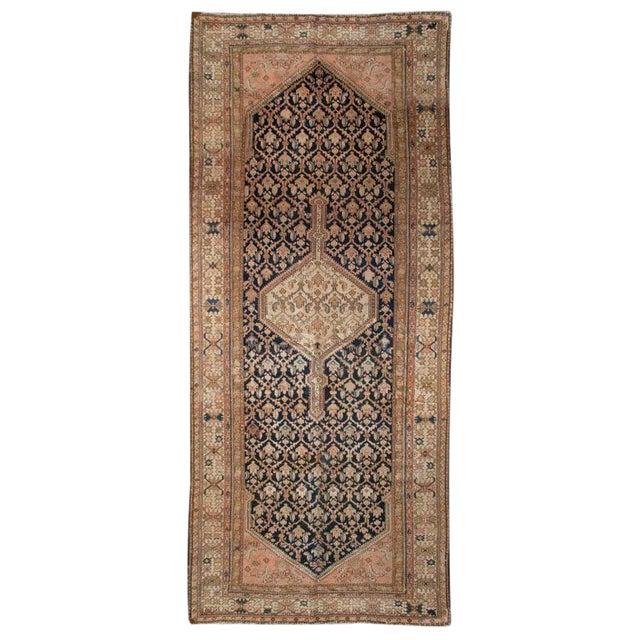 "Antique Malayer Carpet - 5'3"" x 11'10"" For Sale"