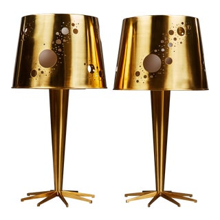 "Pair of Roberto Giulio Rida ""Lattea"" Table Lamps"