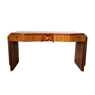 Important Saddier Art Deco Executive Desk For Sale